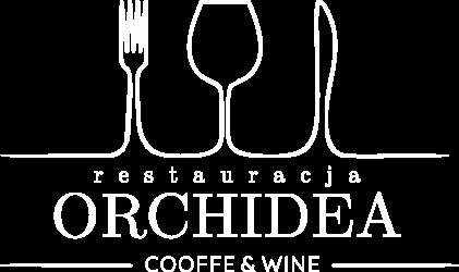 logo orchidea białe